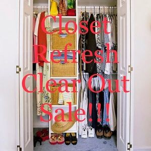Other - Closet Refresh!! Clear Out Sale!!!